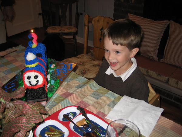 Thomas is 3!