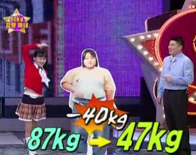 Weight loss ticker for my desktop