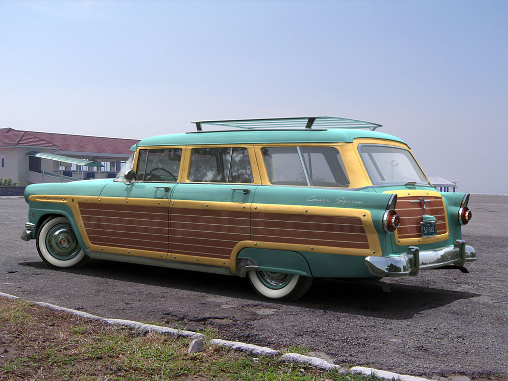 1956 ford country squire smcars net car blueprints forum -  Img