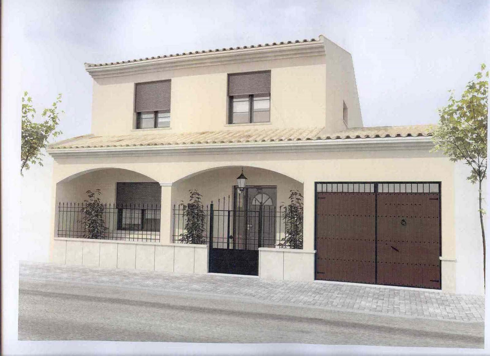 Materiales para fachadas exteriores de casas los for Materiales para fachadas exteriores