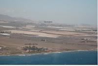 Vista aérea de los terrenos adjudicados para la construcción de la macrocárcel de Maspalomas
