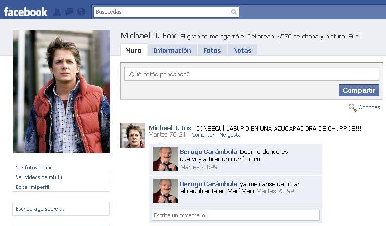 Asi son los Famosos en Facebook