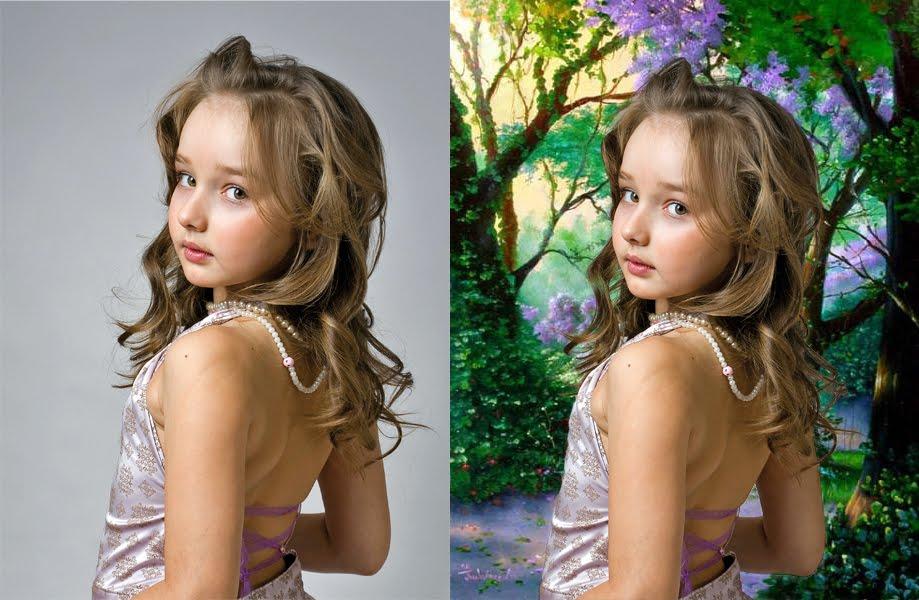 Как сделать на фото белый фон в фотошопе - ФоксТел-Юг