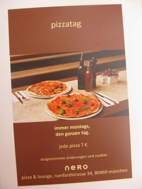 bretzel caf cr me nero pizza lounge. Black Bedroom Furniture Sets. Home Design Ideas
