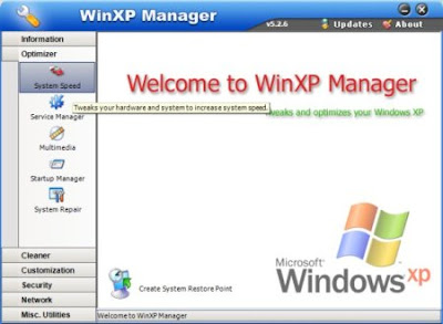 f25513cd01e2 Baixar - WinXP Manager 6.0.0