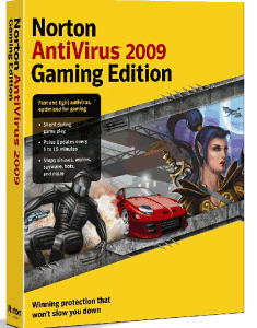 Norton AntiVirus 2009 Gaming Edition