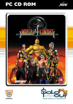 Mortal Kombat 4 55139 Mortal Kombat 4 3D Fighting (PC) Game