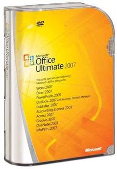 Office Microsoft Office 2007 Ultimate Edition Totalmente em Potuguês BR
