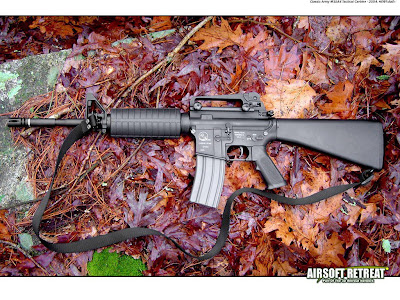 Armalite M15A4 Carbine Wallpaper