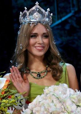 Ms. World 2008 Winner: Ms. Kseniya Sukhinova of Russia