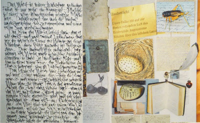 Ruth Tesmar - Zauberlicht, Collage 2008