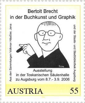 Hans Ticha, Bertolt Brecht