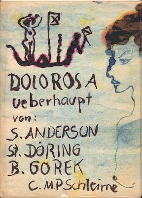 Poesiealbum DOLOROSA überhaupt, Zeichnung von Conny Schleime, Dresden, 1984