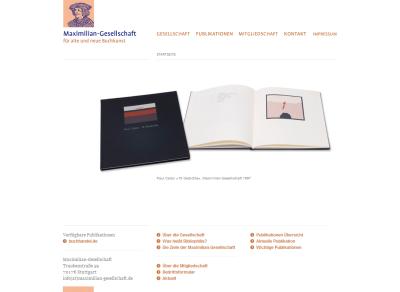 Homepage e Maximilian-Gesellschaft