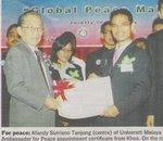 "Bersama Prof Emeritus Dr. Khoo Kay Kim dalam ""Global Peace Maker"""