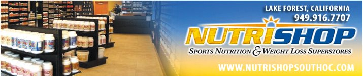 Orange County Nutritionist - NutriShop, Lake Forest