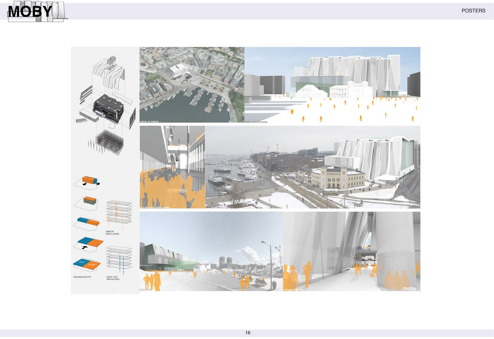 CK Architecture Competition Boards For The Norwegian National Museum In Oslo Collaboration With Bittoni Design Studio