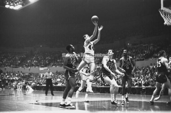 1966 celtics vs lakers