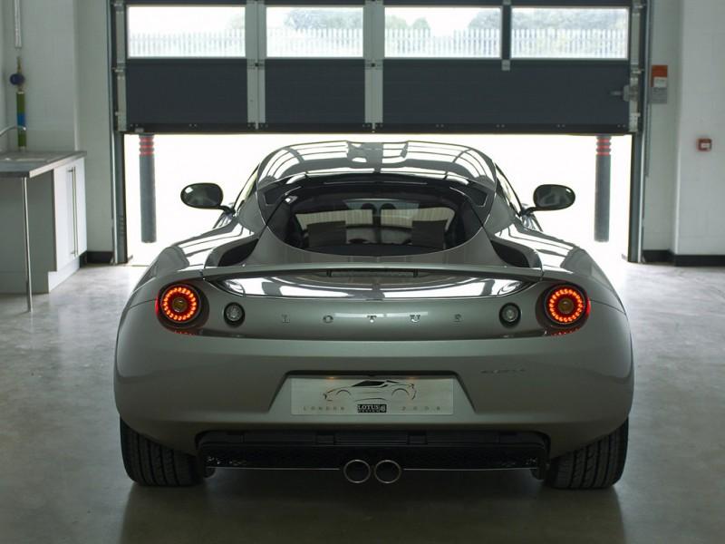 2010 Lotus Evora rear