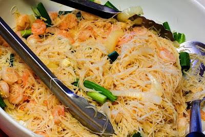 Long Life Fertility Noodles With Happy Shrimp Recipe ...