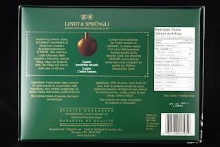 Lindt - Lindor Balls - Dark Peppermint