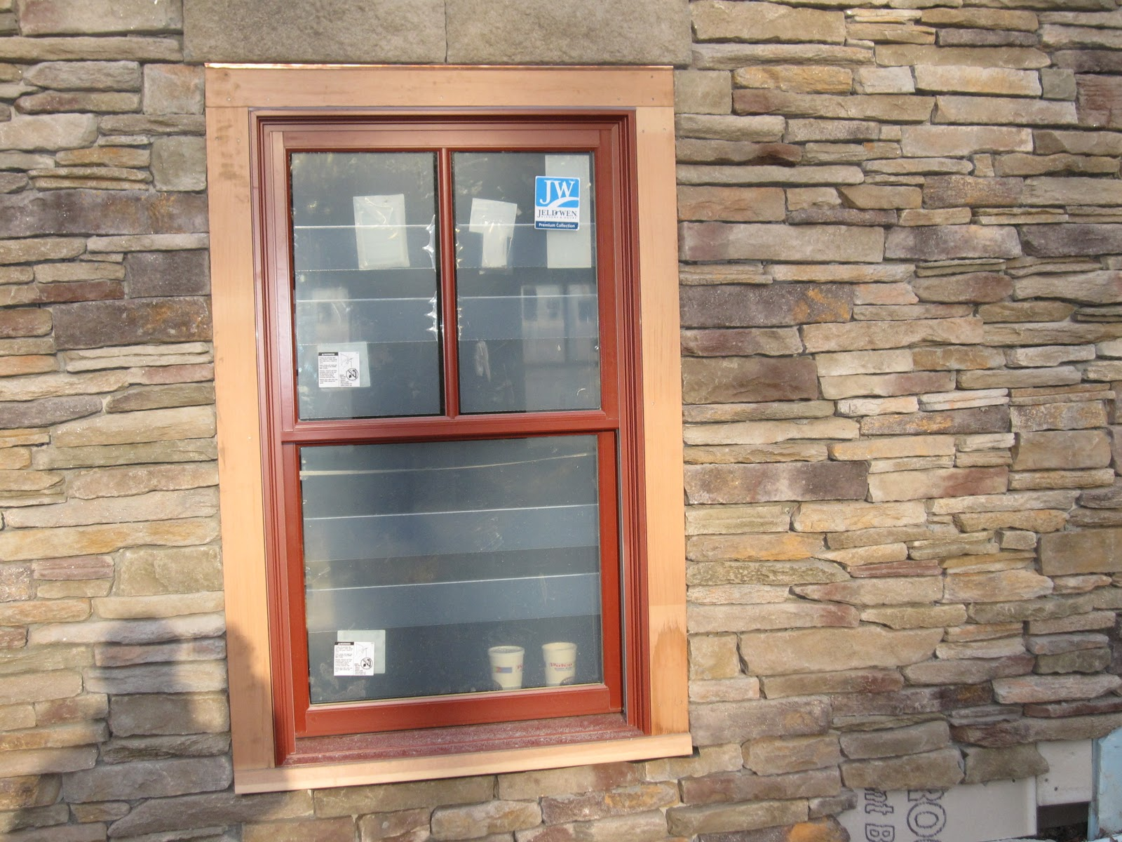 Palladium Stone Around Window : Building a house in kent doors and windows