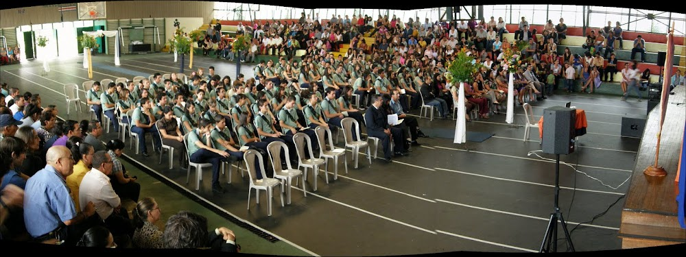 Graduación No. 40 Liceo Regional Flores - Heredia
