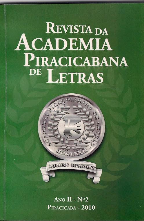 Revista da Academia Piracicabana de Letras - vol 2