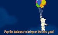 Feliz Ano Novo (clique  e estoure os balões)