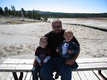 John with boys in yellowstone fall 07