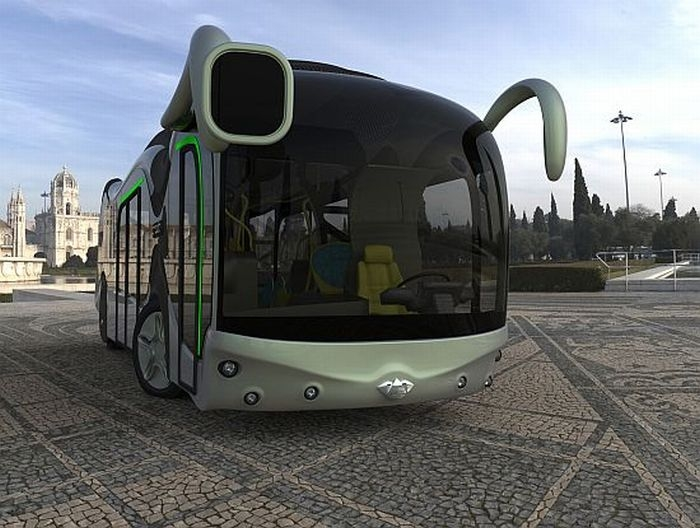Bus Credo E-Bone, Bus Berbahan Bakar Hidrogen yang Ramah Lingkungan
