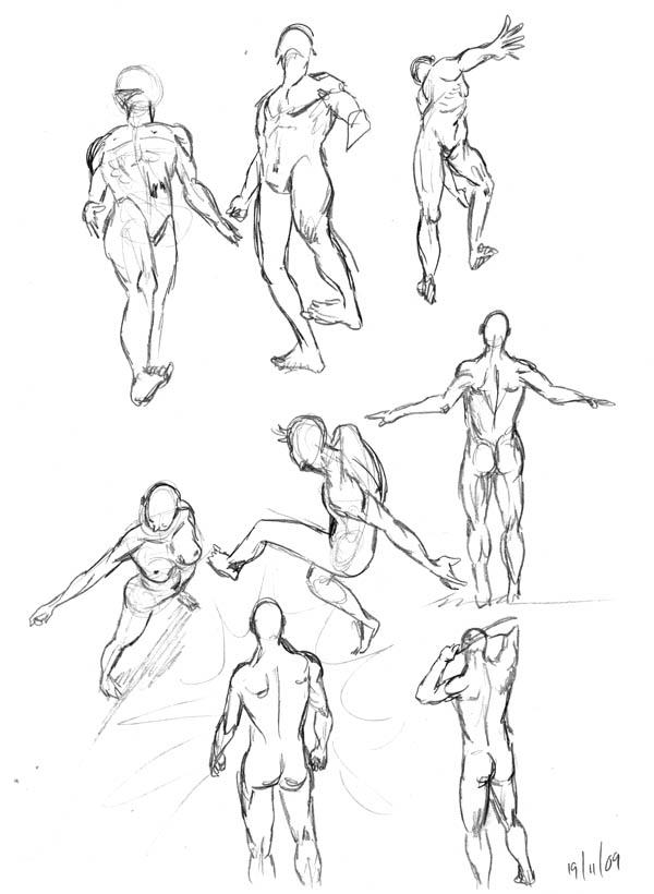 Little Mayhem Anatomy Sketches 03