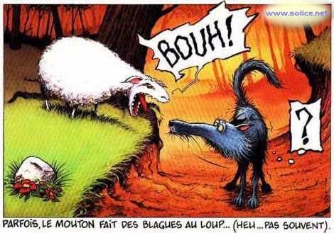 Fran ais la 6 7 du coll ge fernand l ger apr s le loup - Dessin loup et agneau ...