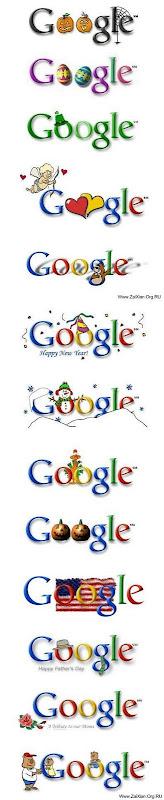 10个Logo标示了Google的十年历程