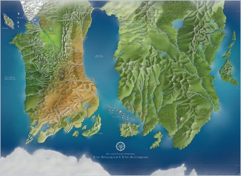 Hmm Interesting: Belgariad/Malloreon Map