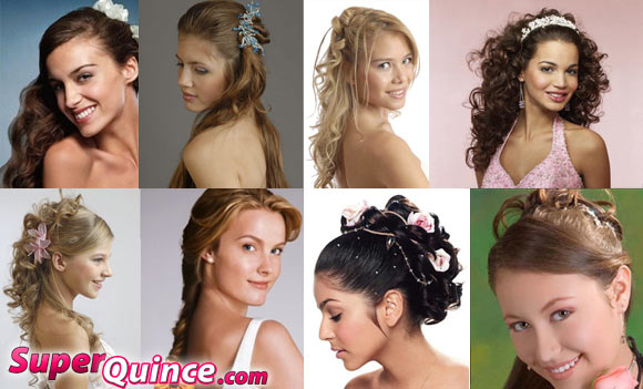 cute hairstyles for quinceaneras