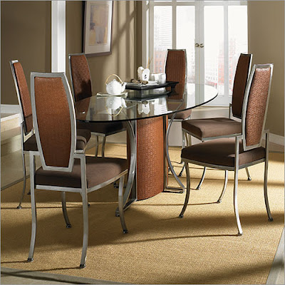 Glass Table Dining Room Sets on Modern Furniture  Glass Dining Sets
