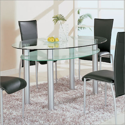Dining Room Furniture Atlanta on Home Decor  Glass Dining Sets