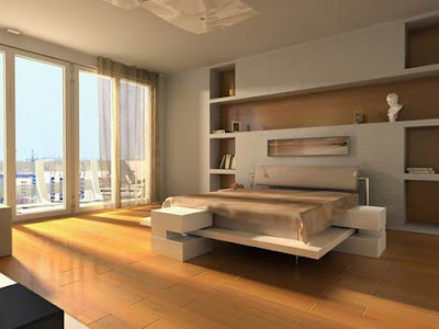 Modern Bedroom on Here Is Another Minimalist Modern Bedroom Ideas  With A Wall Mounted