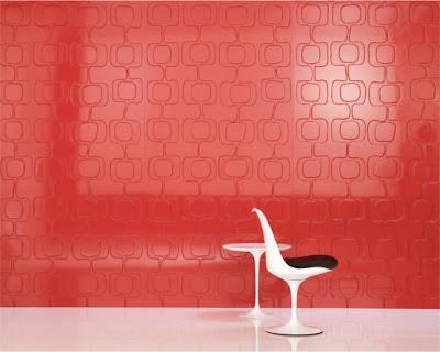 أحدث دهانات 2011 للشقق والمساحات الصغيرة Iconic-decorative-panels-red-554x443