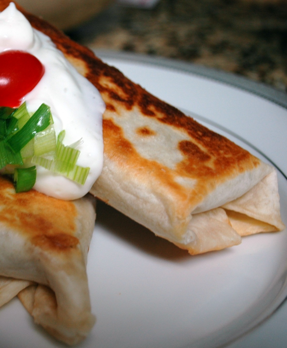 Good Thymes and Good Food: Shredded Beef Chimichangas