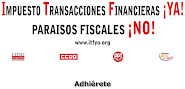 Impuesto Transacciones Financieras NO a los paraisos fiscales