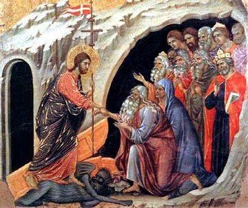 Commémoration de tous les fidèles défunts dans images sacrée 20550B