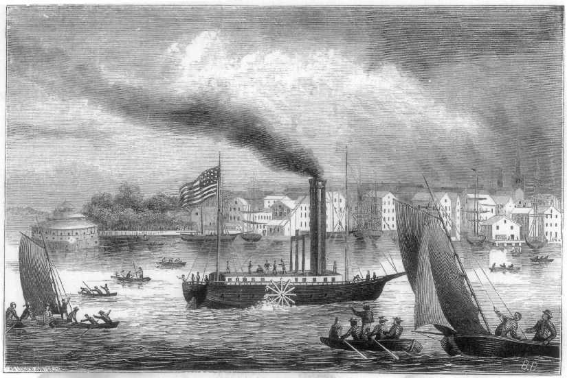 a history of steamboats in louisiana in the united states of america Fulton achieved his place in history by producing the first commercially successful steamboat fulton's success raised the curtain for the commercial development of america's waterways, particularly the ohio and the mississippi.
