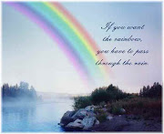 If you want the rainbow, you have to pass through the rain.