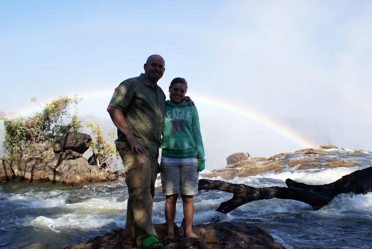 Above Victoria Falls