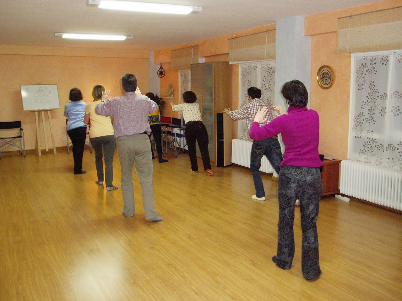 El Tai-Chi es una danza para alcanzar la meditación