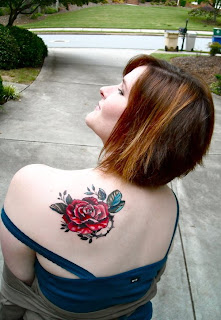 Rose Tattoos on Women