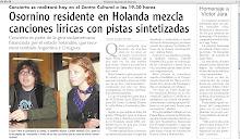 Diario Austral, Osorno, Chile, July 2007