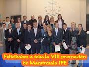 VIII PROMOCIÓN MAESTRESALA
